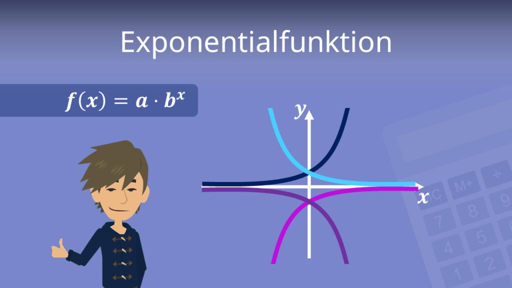 Exponentialfunktion, Exponentialfunktion Formel, Exponentialfunktion Aufgaben