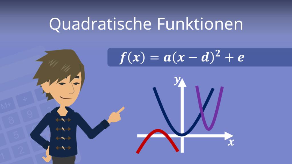 Zum Video: Quadratische Funktionen