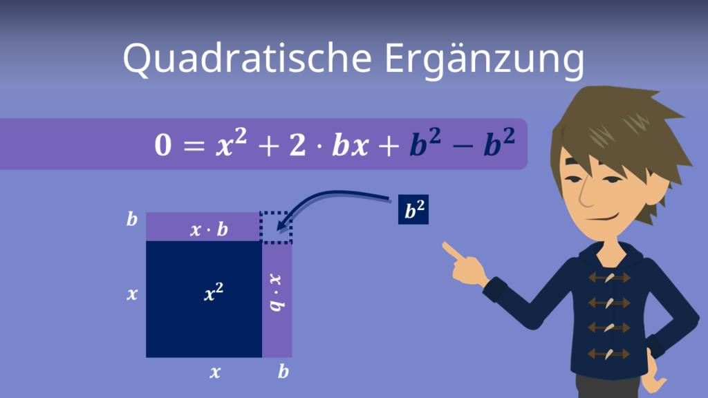 Zum Video: Quadratische Ergänzung