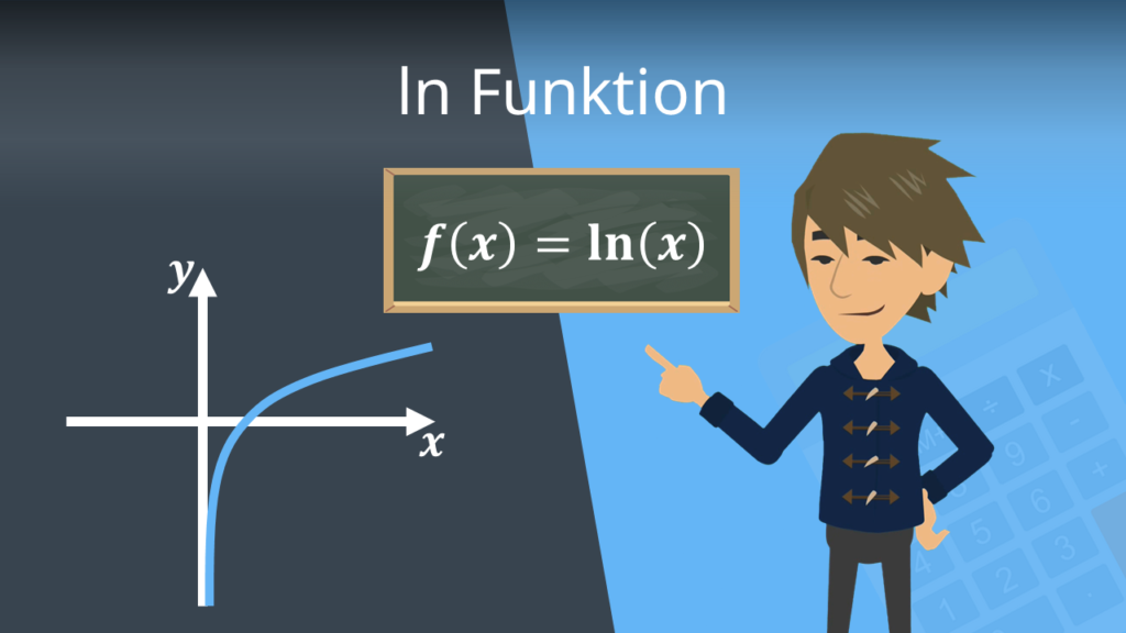 ln Funktion, ln Regeln, natürliche logarithmusfunktion, logarithmusfunktion zur basis e, Funktion ln(x), Funktion ln x,