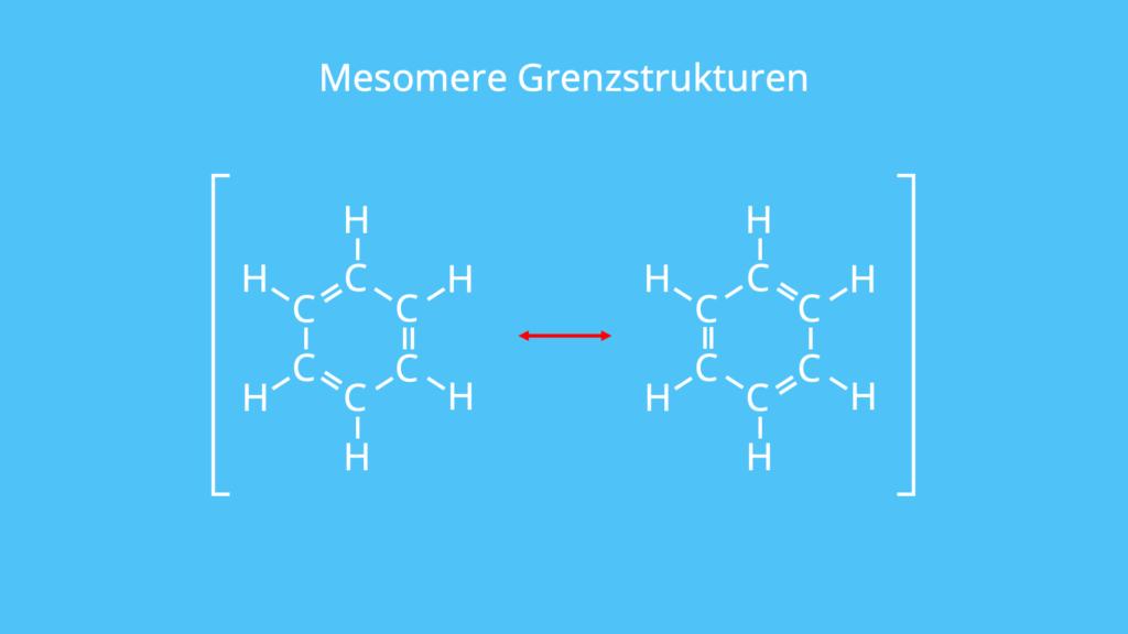 Mesomere Grenzstrukturen, mesomer, Grenzstrukturen, mesomeriestabilisiertes, trigonal-planar