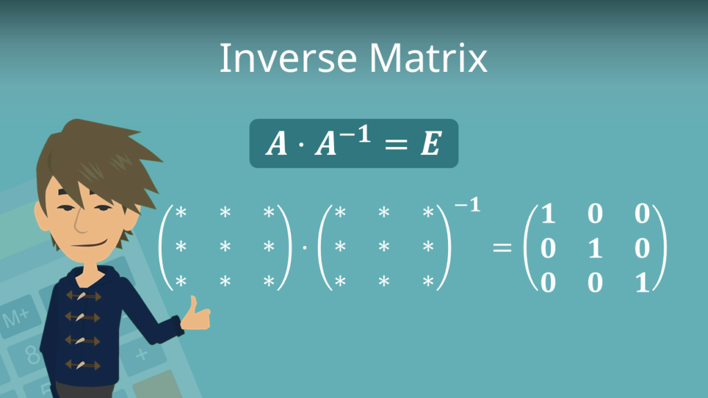 Zum Video: Inverse Matrix