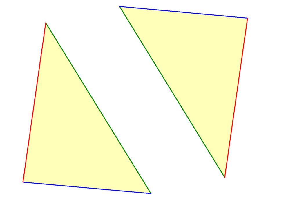 Kongruenzsatz SSS, Kongruenzsätze, kongruente Dreiecke