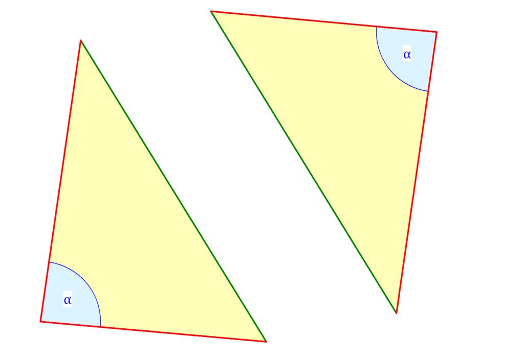 Kongruenzsatz SWS, kongruente Dreiecke, Kongurenz