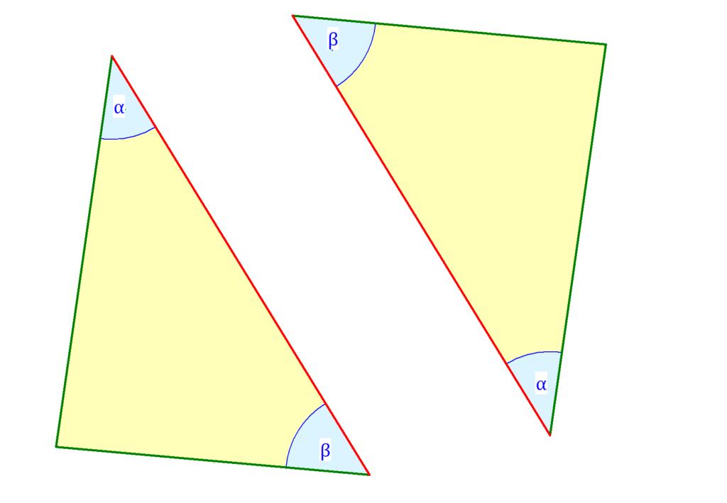 Kongruenzsatz WSW, Kongruenzsätze, kongruente Dreiecke