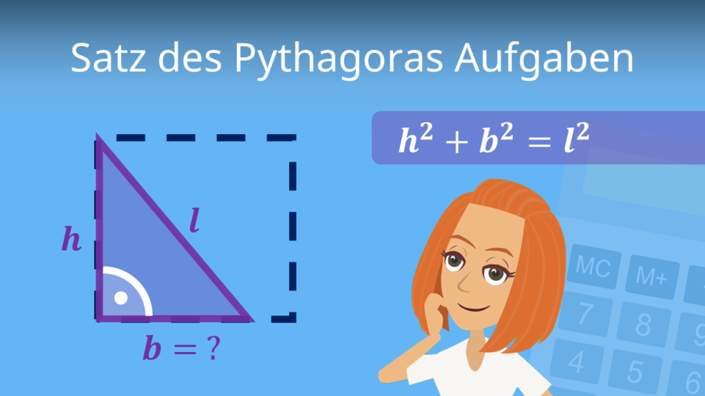 Satz des Pythagoras Aufgaben, Satz des Pythagoras Übungen, Satz des Pythagoras Übungsaufgaben