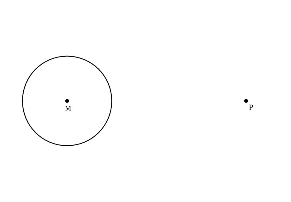 Satz des Thales Aufgabe, Kreistangente konstruieren, Konstruktion Kreistangente