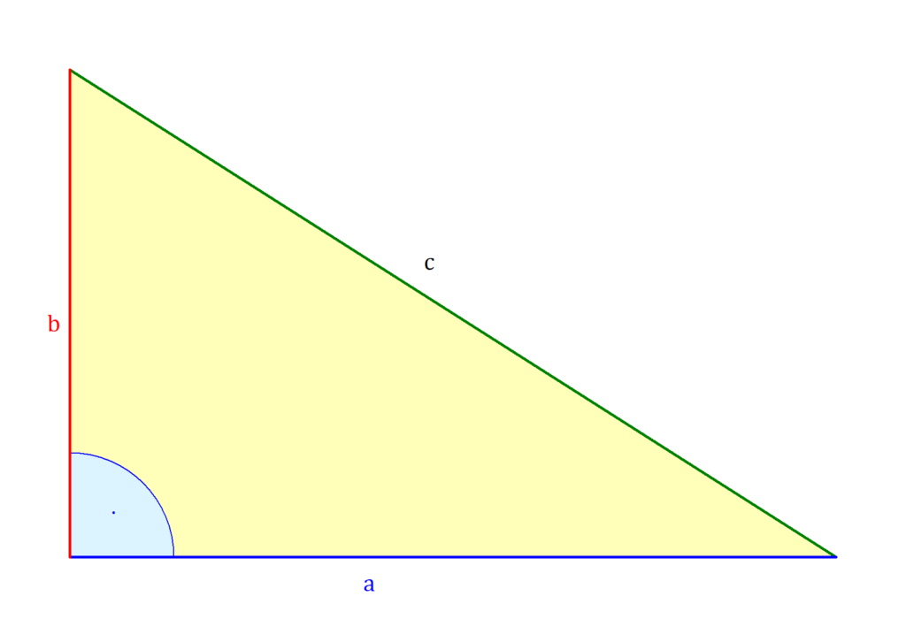 Rechtwinkliges Dreieck, rechtwinkliges Dreieck Flächeninhalt