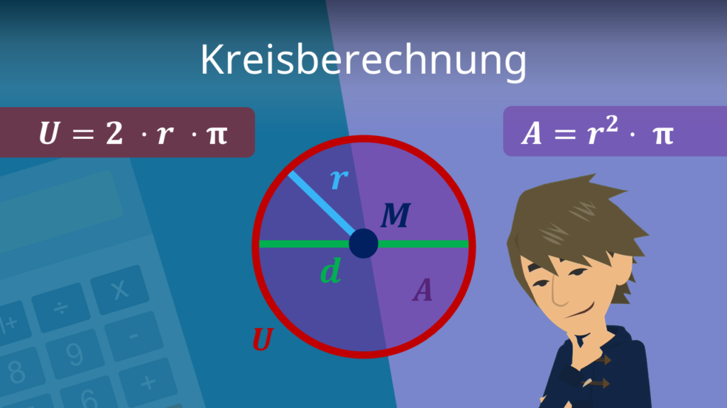 Kreisberechnung, Kreis, Berechnung Kreis, Formeln Kreis, Kreis Formel