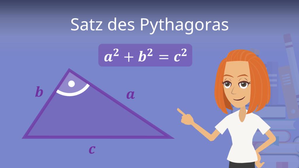 Satz des pythagoras, Satz des pythagoras formel, Formel satz des pythagoras