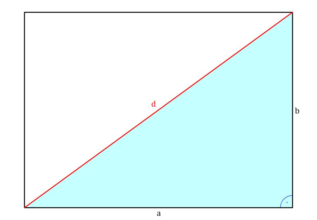 Diagonale Rechteck Formel