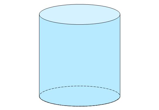 Zylinder Mathe, Mathe Zylinder, Körper Zylinder, geometrische Körper Zylinder