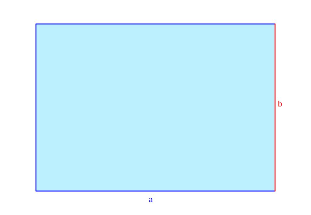 Grundfläche Quader, Quader Grundfläche, Volumen Rechteck, Volumen eines Rechtecks, Rechteck Volumen