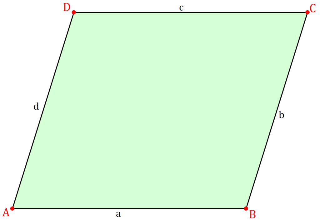 Parallelogramm, Parallelogramm Mathe, Parallelogramm Geometrie, geometrische Figur Parallelogramm