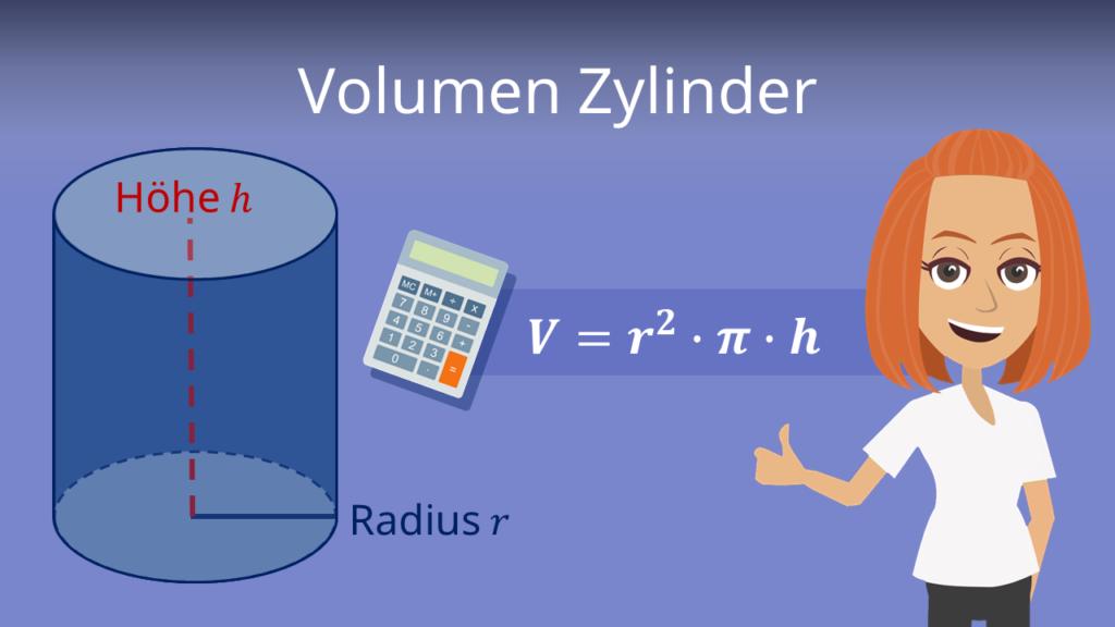 Zylinder, Volumen Zylinder, Volumen Zylinder Formel, Zylinder Formel, Zylinder berechnen