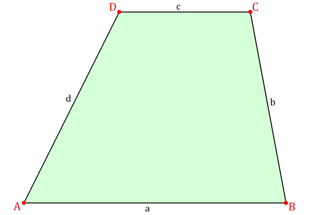 Trapez, Trapez Geometrie, Trapez Mathe, Geometrische Form Trapez, Geometrische Figur Trapez, Trapez Viereck