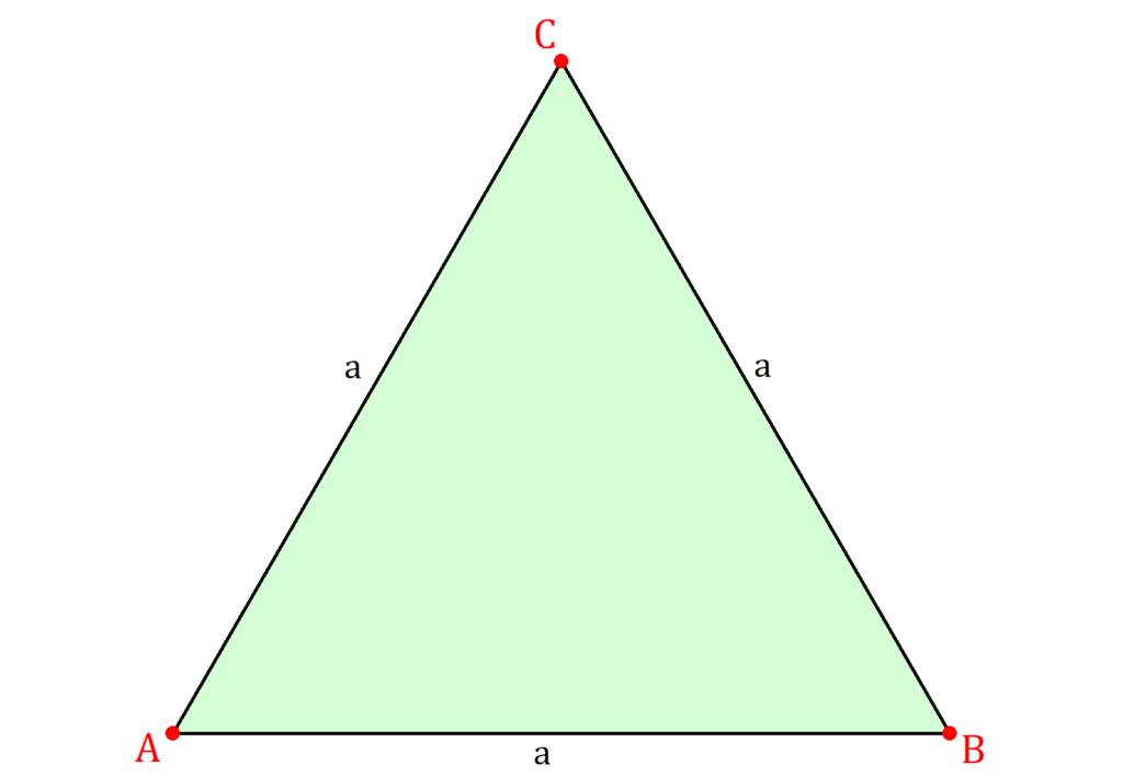Gleichseitiges Dreieck, Dreieck gleichseitig, Geometrie gleichseitiges Dreieck, Dreieck Seiten gleich lang
