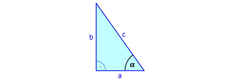 Ankathete, Dreieck, Winkel, Seite