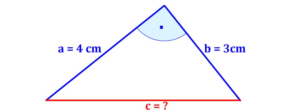 Dreieck, rechter Winkel, Kathete, Hypotenuse