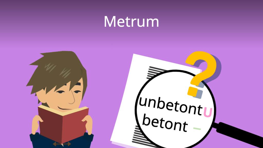 Metrum, Metrum bestimmen