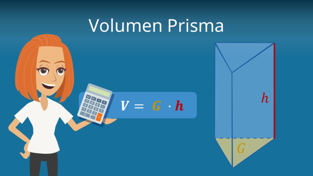 Prisma, Prisma Volumen, Prisma Volumen Formel, Prisma Volumen berechnen