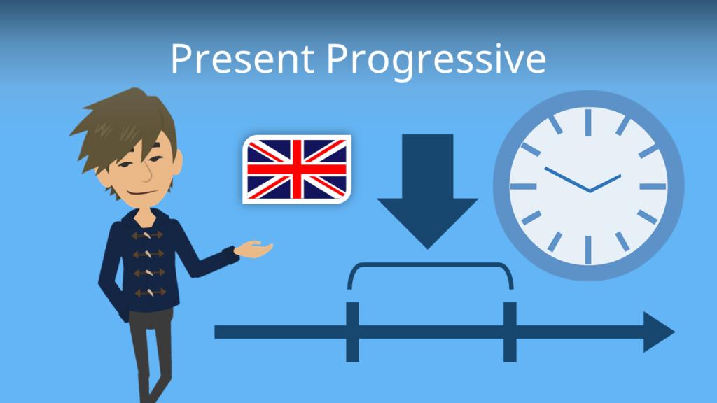 Zum Video: Present Progressive