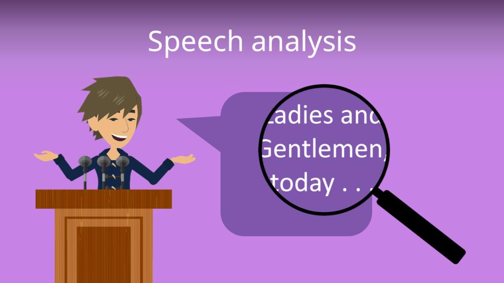Zum Video: Speech analysis