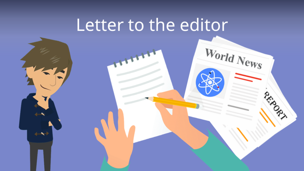 Zum Video: Letter to the editor