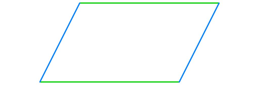 Parallelogramm, Vierecke, Viereck, Haus der Vierecke