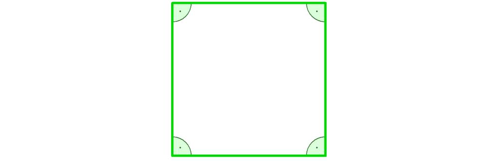 Quadrat, gleichseitig, Viereck, Haus der Vierecke, rechtwinklig, rechter Winkel