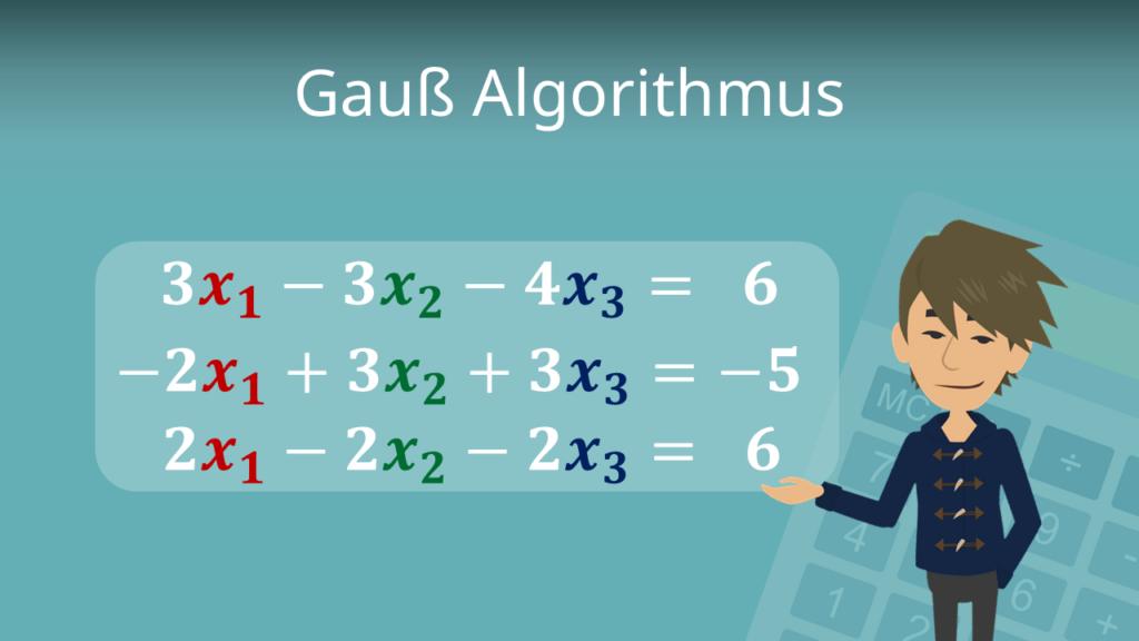 Zum Video: Gauß-Algorithmus