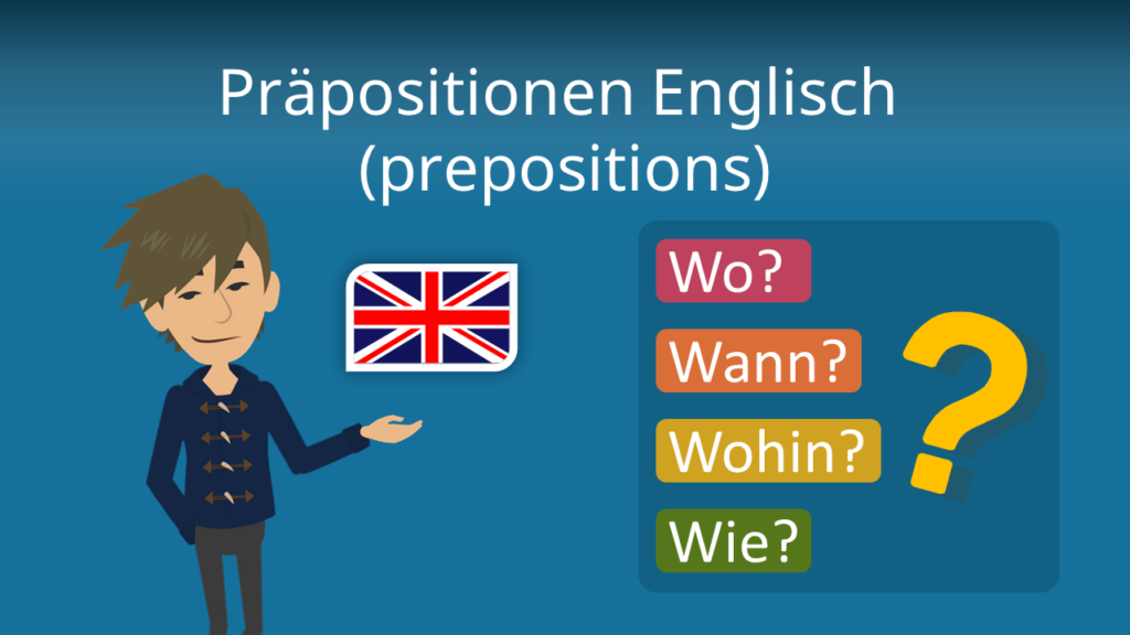 Zum Video: Präpositionen Englisch (prepositions)
