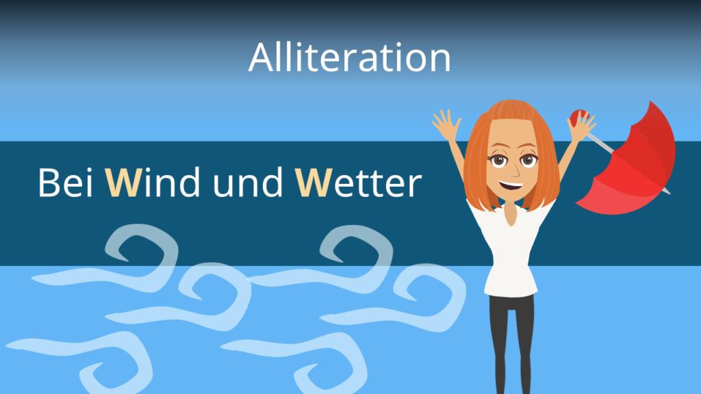 Zum Video: Alliteration