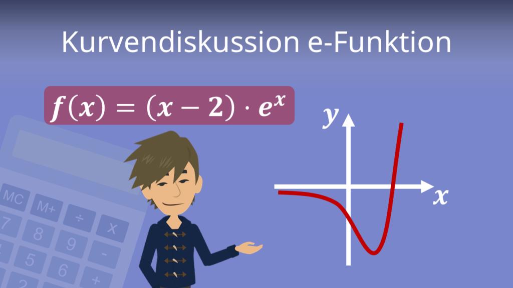 Zum Video Kurvendiskussion e-Funktion