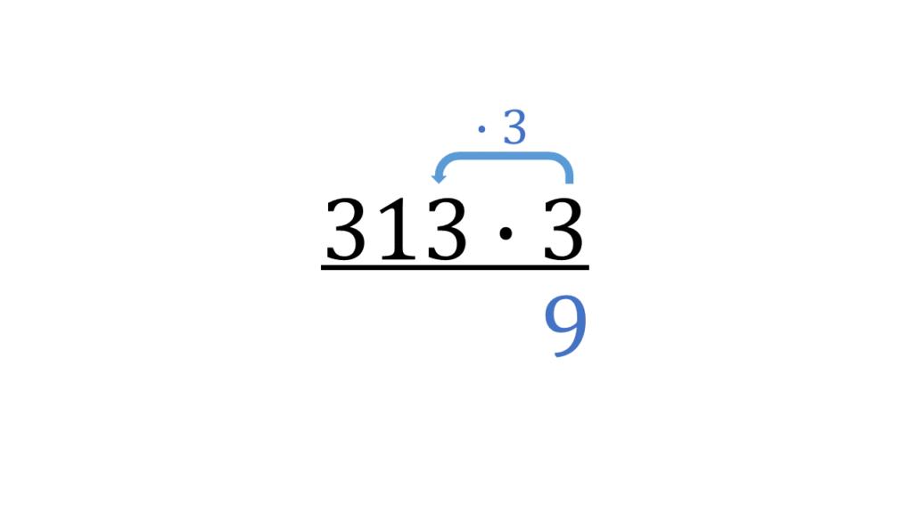 Schriftlich multiplizieren, schriftliche Multiplikation, erste Ziffer, mal nehmen, Schriftlich mal rechnen