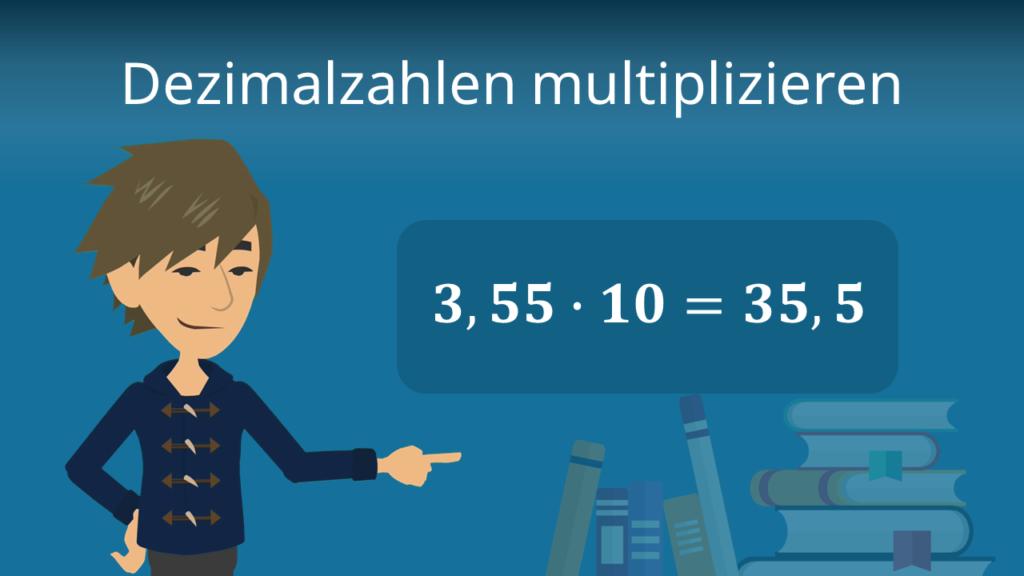 Zum Video: Dezimalzahlen multiplizieren