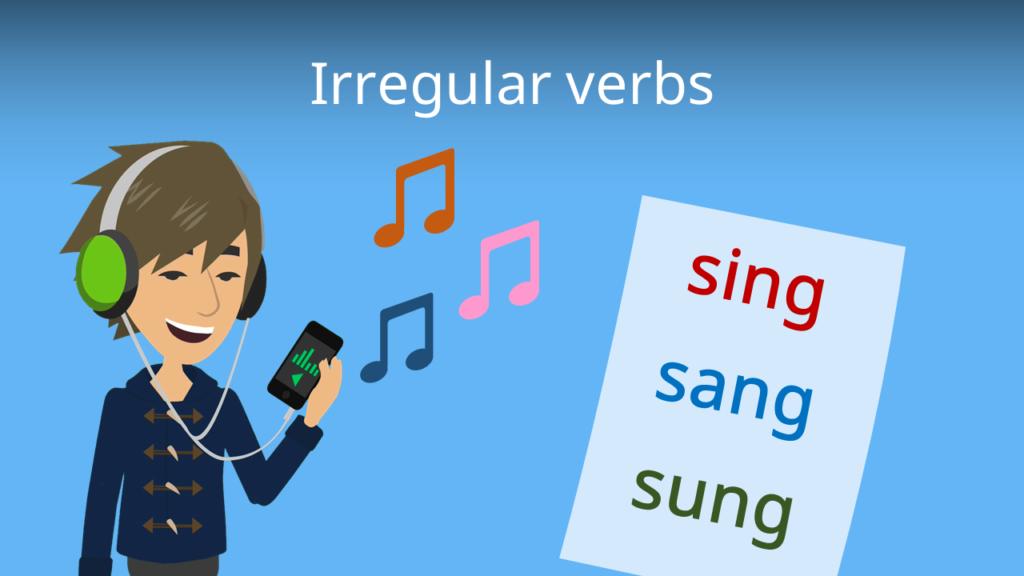 Zum Video: Irregular verbs