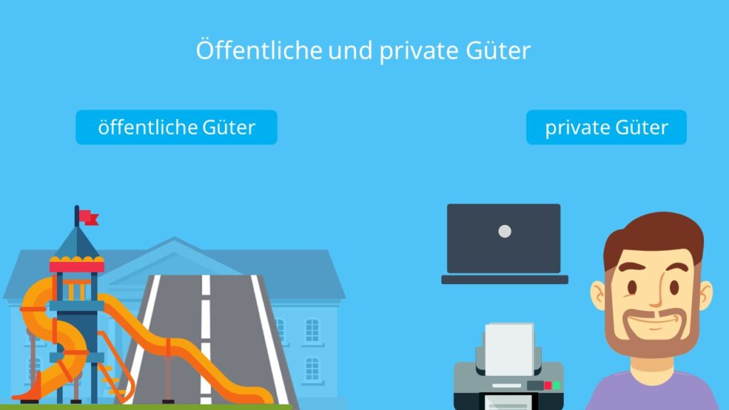 Güterarten, öffentliche Güter, private Güter