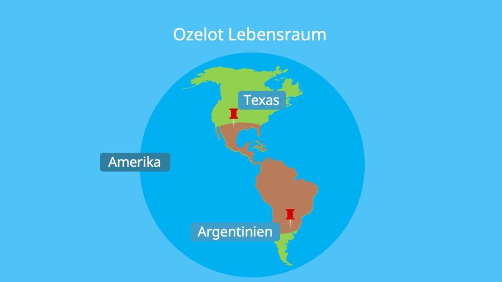 Südamerika, Texas, Mittelamerika