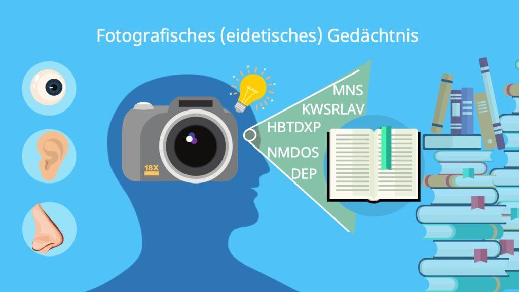Eidetiker, eidetisch, fotografisches Gedächtnis test