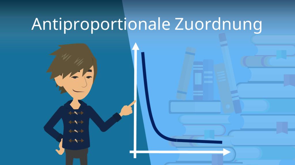 Zum Video: Antiproportionale Zuordnung