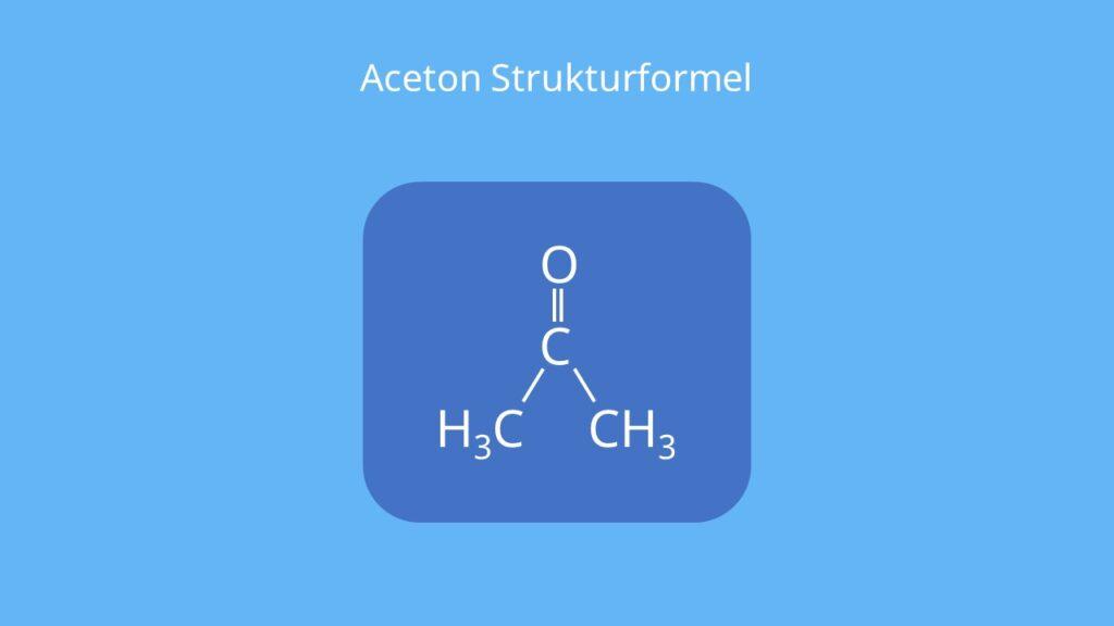 Was ist Aceton, Propanon, Dimethylketon, Azeton, CH3COCH3