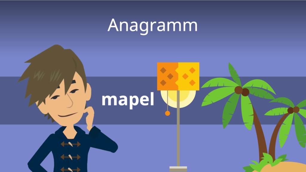 Anagramm, Anagramm Beispiele, Wortspiele