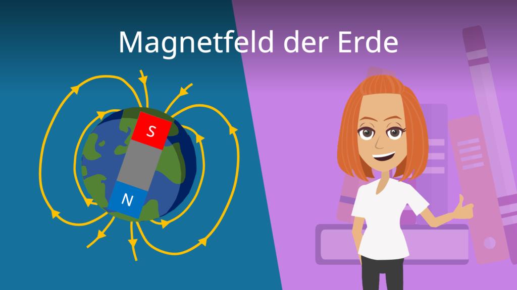 Magnetfeld, Magnetfeld der Erde