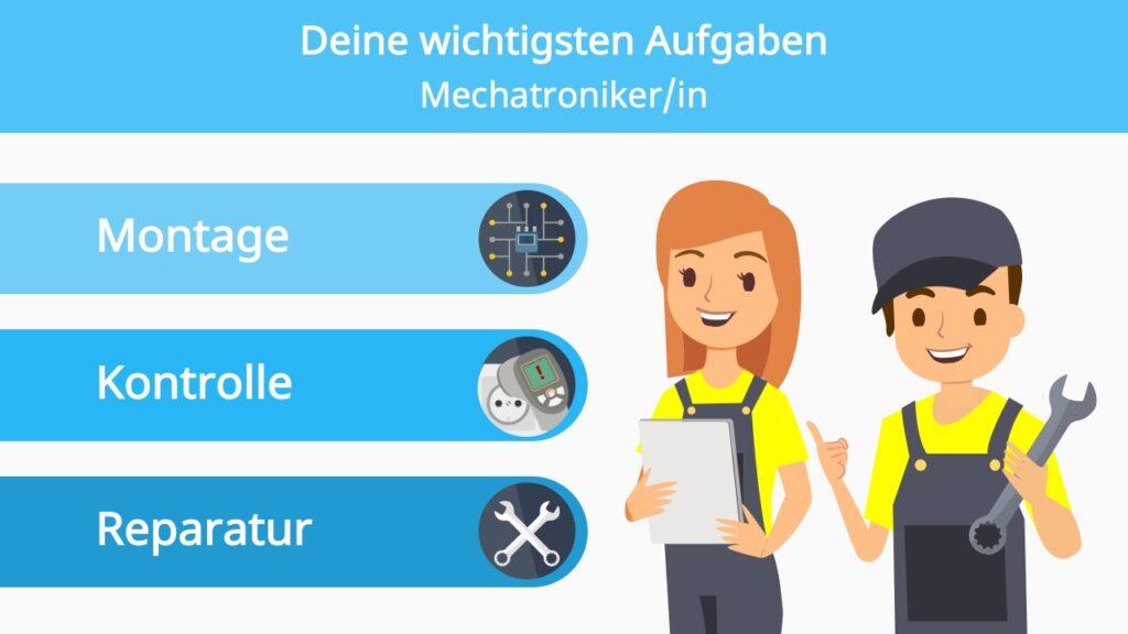 Mechatroniker, Mechatroniker Ausbildung, Ausbildung Mechatroniker, Was macht ein Mechatroniker, Mechatroniker Aufgaben