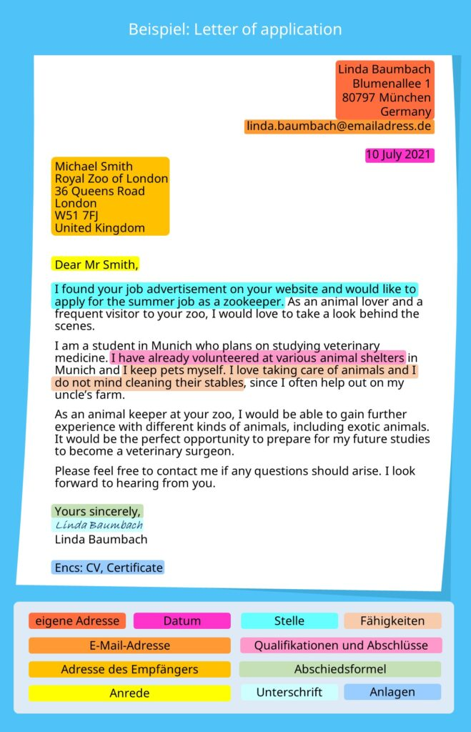 cover letter, letter of application example, letter of application aufbau, letter of application beispiel, letter of application musterlösung, application letter, how to write a letter of application, bewerbung englisch