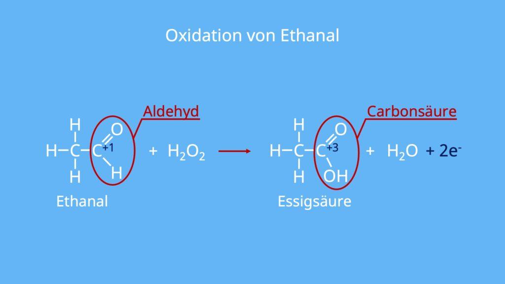 Oxydation, Reduktion Gegenteil, Oxidationsgleichung, Oxidationsreaktion