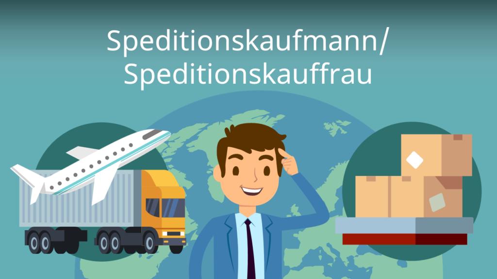 Zum Video: Speditionskaufmann/ Speditionskauffrau