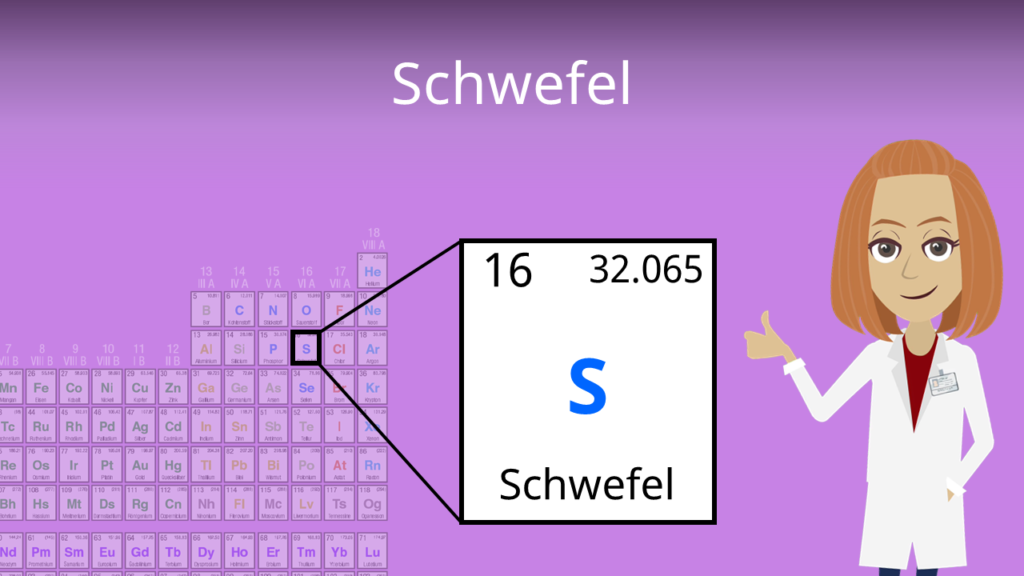 Zum Video: Schwefel