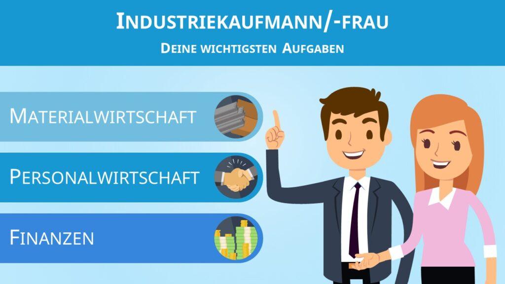 Industriekaufmann, Industriekauffrau, Industriekaufmann Aufgaben, Was ist ein Industriekaufmann
